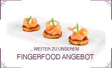 Fingerfood Catering Lieferung