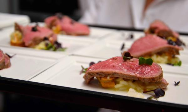 Filet Risotto Catering Wien